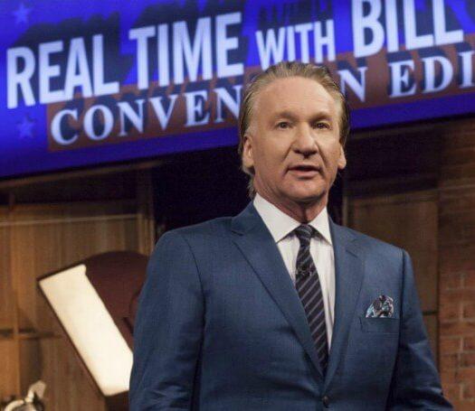 bill maher liberal violence