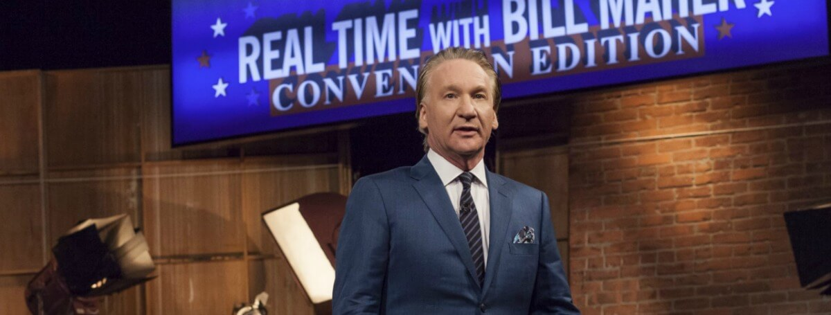 bill maher liberal violence