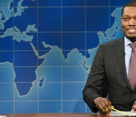 michael che trump media fake news
