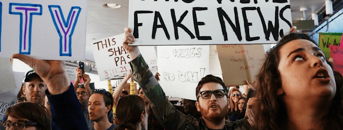 ferguson play fake news