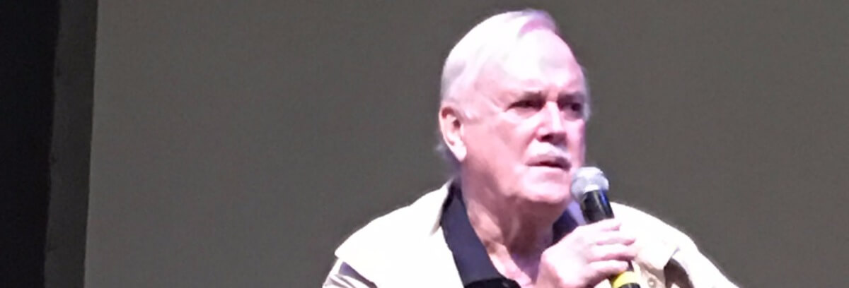 john cleese pittsburgh trump free speech