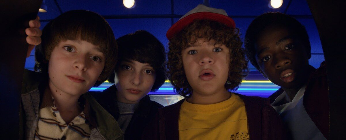 Noah Schnapp, Gaten Matarazzo in Stranger Things