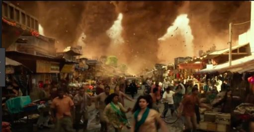 Geostorm movie disaster strikes