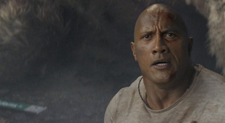 Dwayne Johnson box office movie star politics