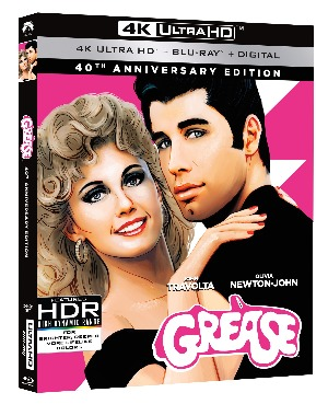 Grease Blu-ray 4K review