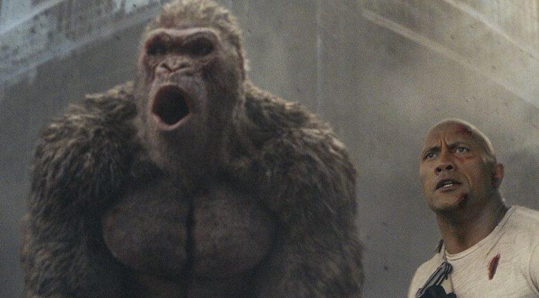rampage movie review dwayne johnson george