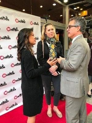 Michelle Malkin red carpet interview Manhattan Film Festival