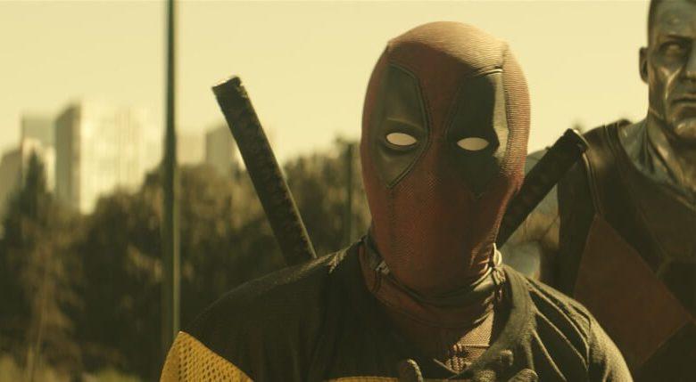 Deadpool 2 Ryan Reynolds in action