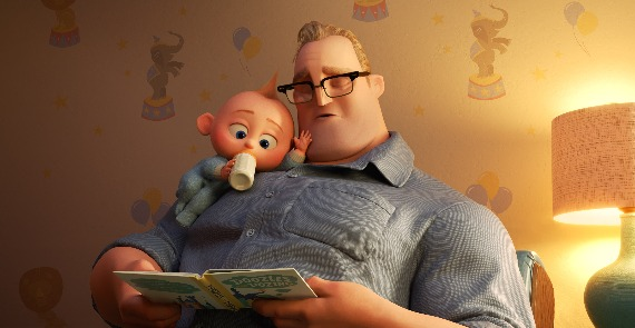 Incredibles 2 inept father