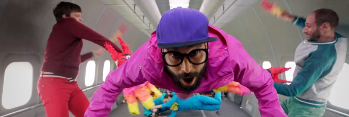 OK GO joyous videos for uncivil times