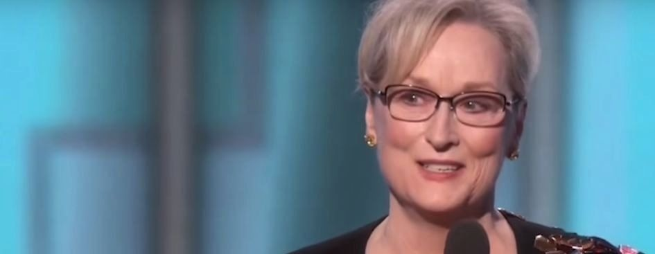 meryl streep hollywood civility golden globes