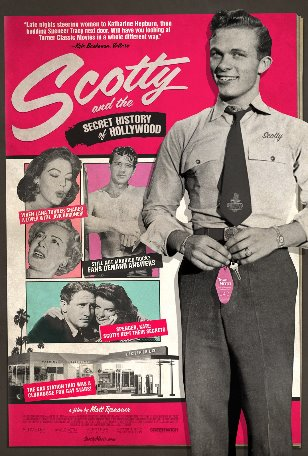 SCOTTY secret history of hollywood Poster -