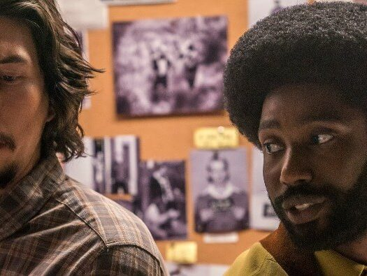 blackkklansman review Adam Driver John David Washington