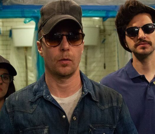 blue iguana review sam rockwell