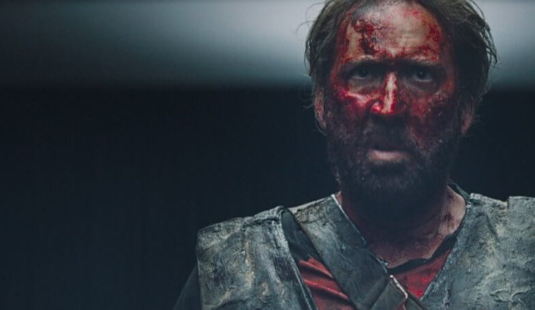 MANDY nicolas cage review