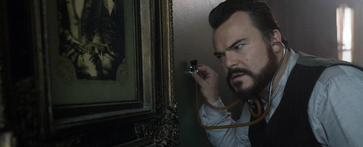 house with clock in its walls review jack black