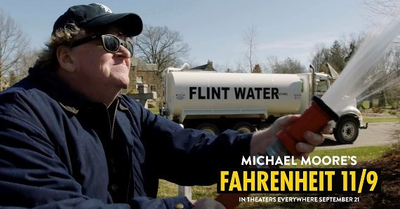 michael moore flint water