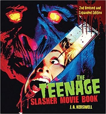 teenage slasher movie book cover