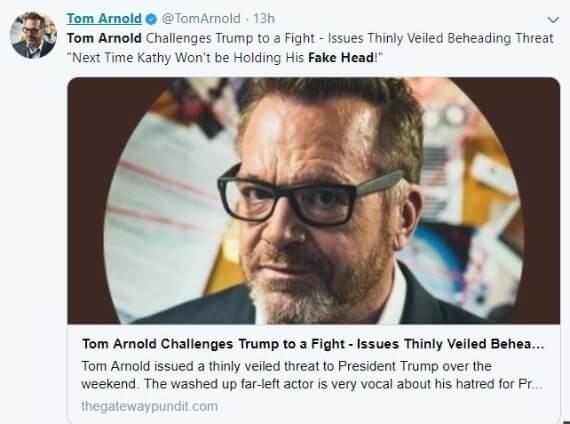 Tom Arnold Gateway Pundit