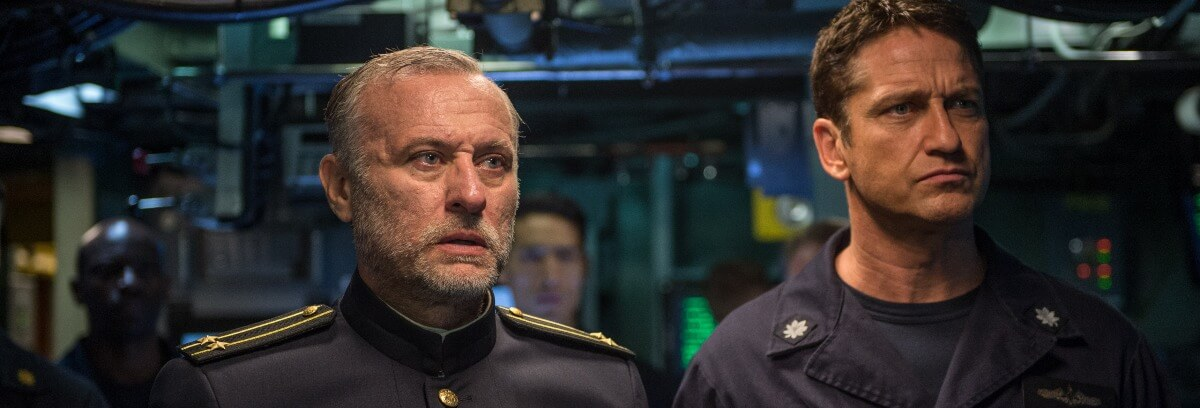 hunter killer review gerard butler
