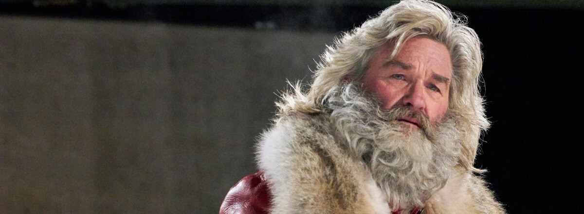 The Christmas Chronicles Santa.Russell Rocks Red Suit In Christmas Chronicles Hollywood