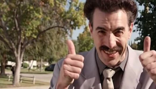 Here's Everything Wrong with Borat's Fake News Screed