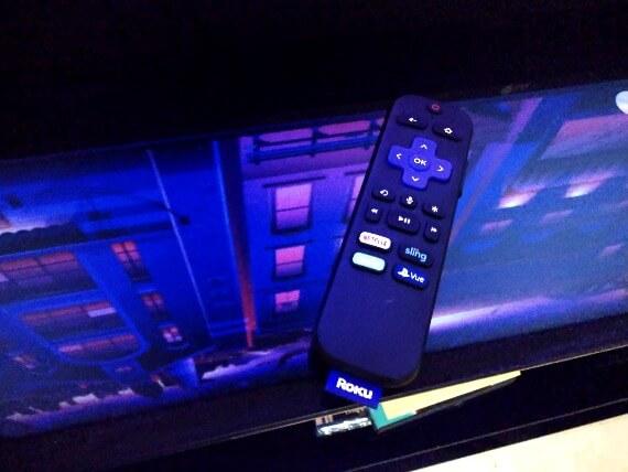 roku streaming stick remote