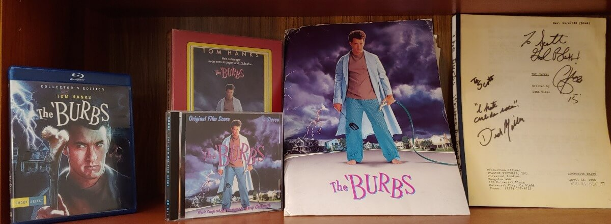 Burbs 30th anniversary collectors items