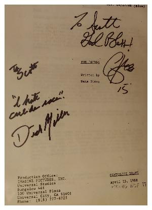 burbs collectors item signed