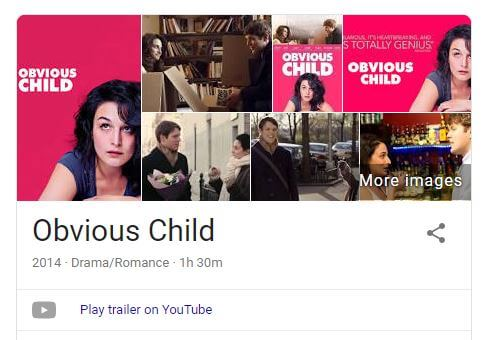 Obvious Child movie images