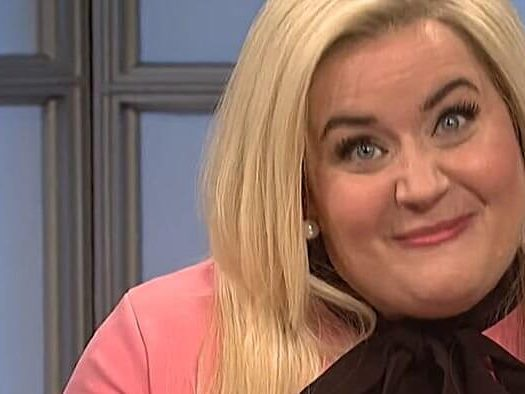Meghan McCain The View Aidy Bryant