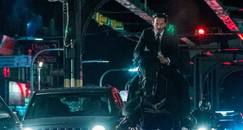 john wick 3 review keanu reeves horse