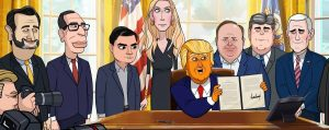 Our Cartoon President conservatives blacklist (1)