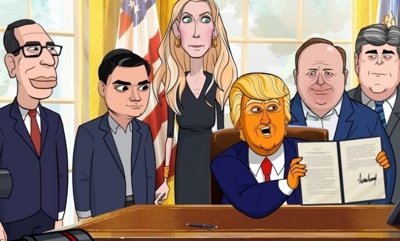 Our Cartoon President conservatives blacklist (1)