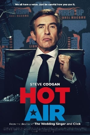 HOT AIR Poster steve coogan