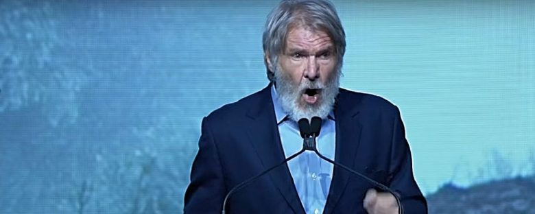 harrison ford climate change