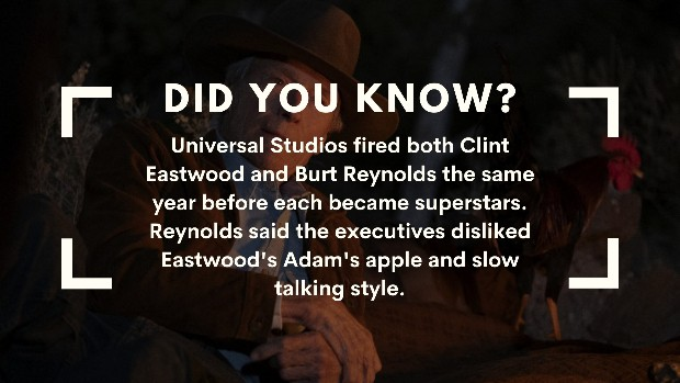 Clint Eastwood trivia fired from Universal