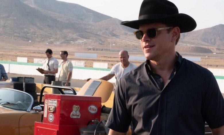 Matt Damon Ford v Ferrari