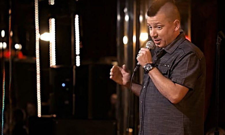Comedian Dave Landau