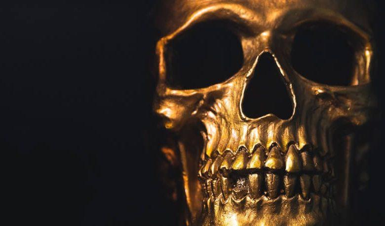 terror in the aisles skull
