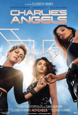 charlies angels fist bump poster 2019