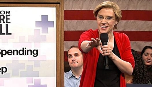 'SNL' Goes Full Pravda for 'President' Elizabeth Warren