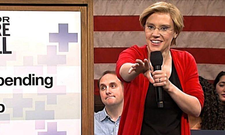 elizabeth warren SNL