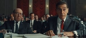irishman review Al Pacino Jimmy Hoffa