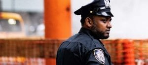'Monochrome' Doc Gives Police Officers Their Due