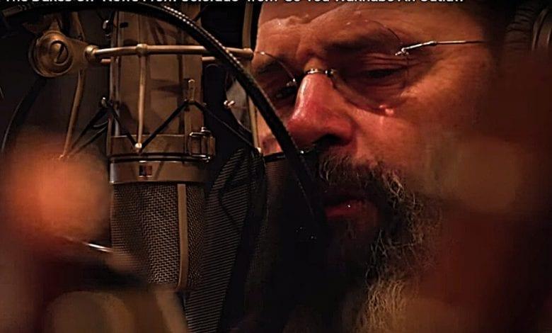 Steve Earle in the studio