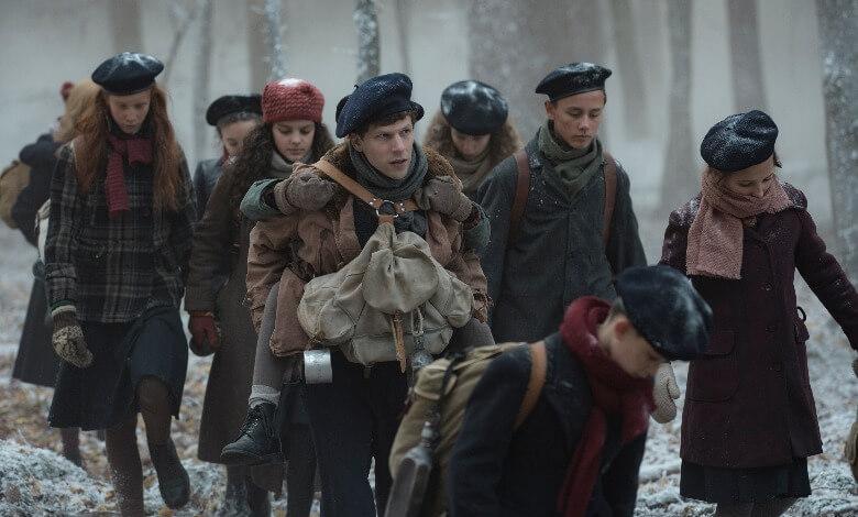 RESISTANCE_movie review jesse eisenberg (1)