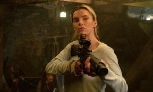The Hunt movie review Betty Gilpin gun