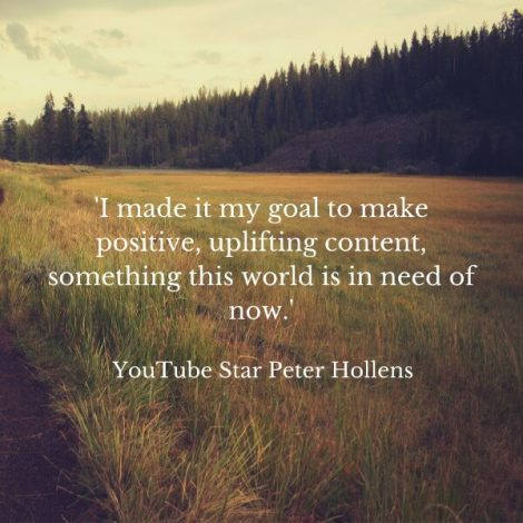 Quote from Peter Hollens