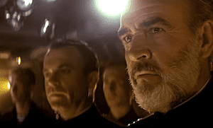 hunt for red october sean connery